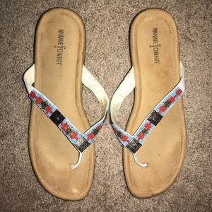 Minnetonka embellished aztec sandals - Size 11